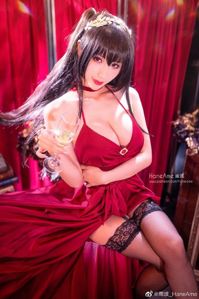 Lịm tim khi ngắm ảnh cosplay nàng waifu nổi tiếng trong tựa game mobile Azur Lane - Ảnh 8.