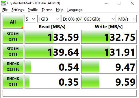 Nhìn chung WD Black P10 có tốc độ không thực sự khác biệt so với những chiếc ổ cứng di động khác