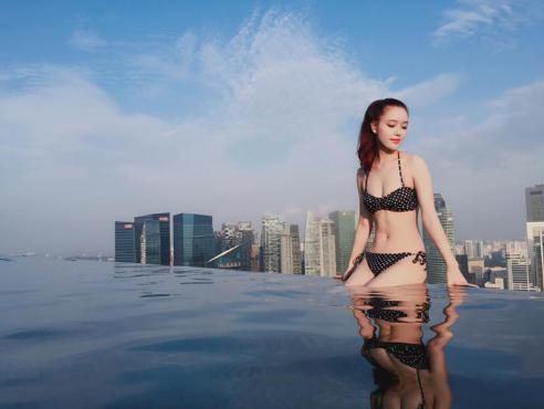 Chiêm ngưỡng vẻ đẹp sắc sảo không thể rời mắt của em gái Hoa hậu Việt Nam 2006 - Ảnh 6.