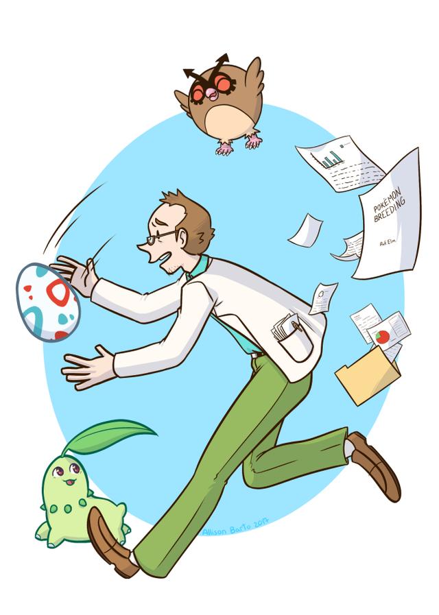 Những chi tiết hay ho mà bạn chưa biết về các vị giáo sư của thế giới Pokemon - Ảnh 7.