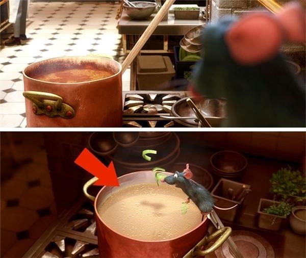 Nhặt sạn những lỗi hài hước xuất hiện trong các bộ phim hoạt hình nổi tiếng - Ảnh 1.