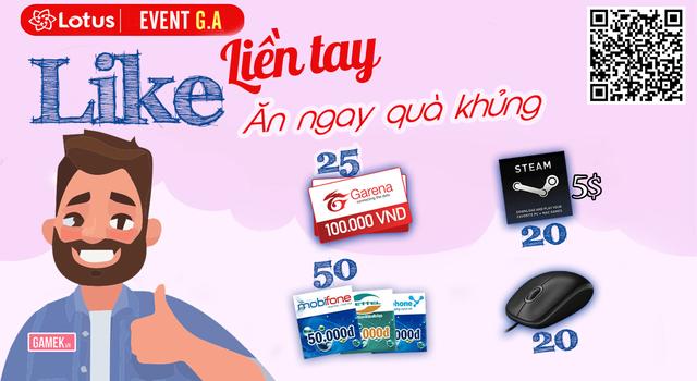 Công bố 115 anh em may mắn nhận quà: Thẻ điện thoại, thẻ Garena, Steam wallet và Chuột - Ảnh 1.
