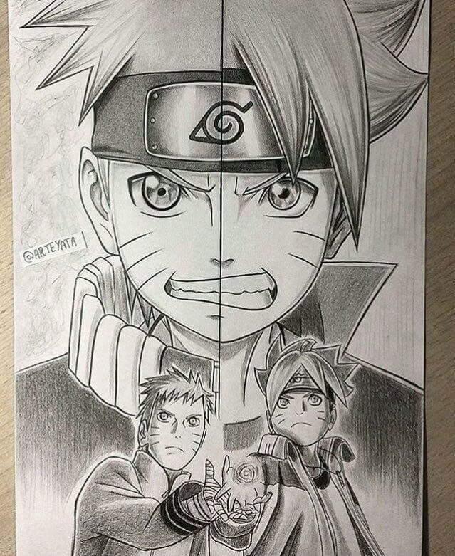 Loạt fan art Naruto toát lên vẻ ma mị đầy cuốn hút khiến người xem không thể rời mắt - Ảnh 7.