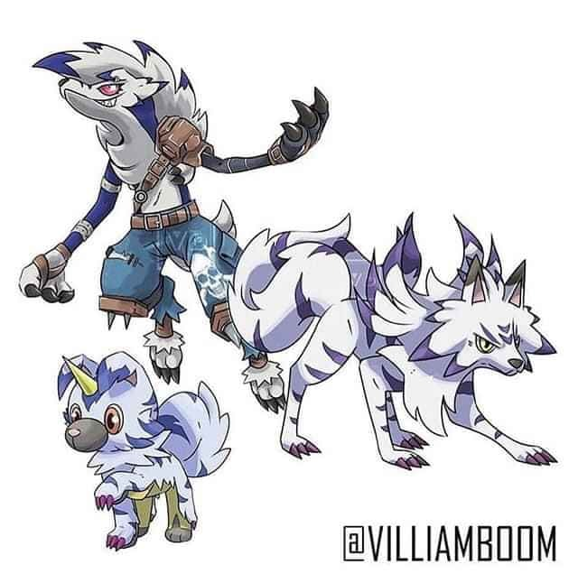 Loạt tranh siêu phẩm Pokemon x Digimon kết hợp đầy mới lạ của họa sĩ Tây Ban Nha - Ảnh 10.