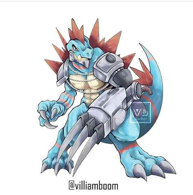 Loạt tranh siêu phẩm Pokemon x Digimon kết hợp đầy mới lạ của họa sĩ Tây Ban Nha - Ảnh 1.