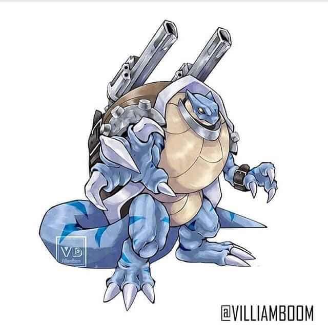 Loạt tranh siêu phẩm Pokemon x Digimon kết hợp đầy mới lạ của họa sĩ Tây Ban Nha - Ảnh 8.