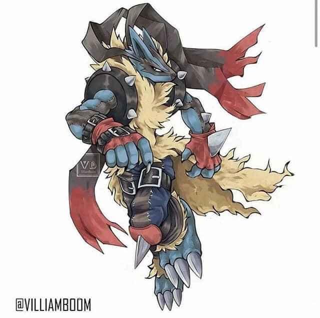 Loạt tranh siêu phẩm Pokemon x Digimon kết hợp đầy mới lạ của họa sĩ Tây Ban Nha - Ảnh 2.