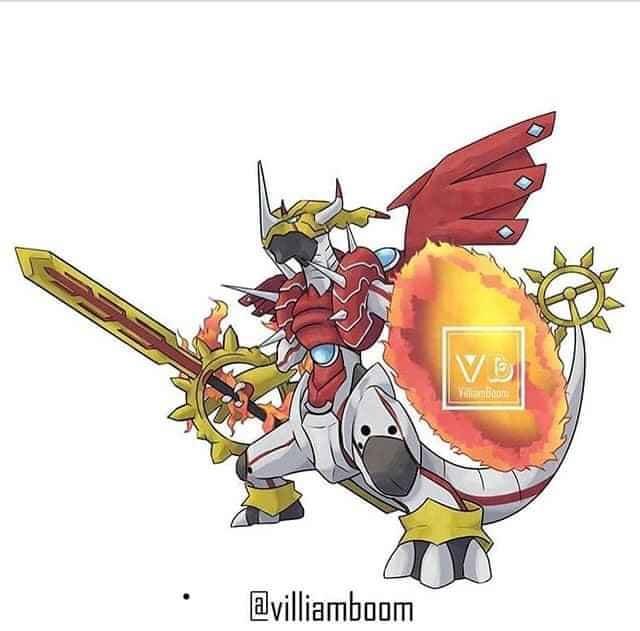 Loạt tranh siêu phẩm Pokemon x Digimon kết hợp đầy mới lạ của họa sĩ Tây Ban Nha - Ảnh 6.