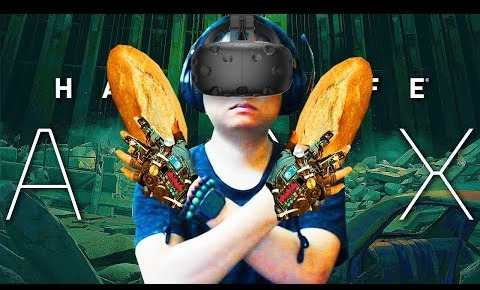 Dũng CT hào hứng khi được tận tay cầm Bánh mỳ Việt Nam trong buổi stream Half-life: Alyx - Ảnh 1.