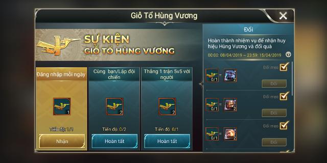 Liên Quân Mobile: Garena tặng cả server 6 skin, gồm vài món Limited dịp Giỗ Tổ Hùng Vương - Ảnh 1.
