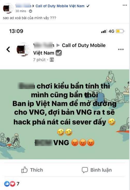 Call Of Duty Mobile: Trẻ trâu kêu gọi hack nát server VNG khi ra mắt, chán hẳn ý thức game thủ Việt - Ảnh 2.