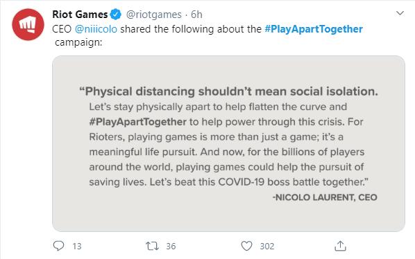 WHO phát động phong trào chơi game đẩy lùi Covid-19, Riot Games và nhiều tổ chức lớn tham gia - Ảnh 8.