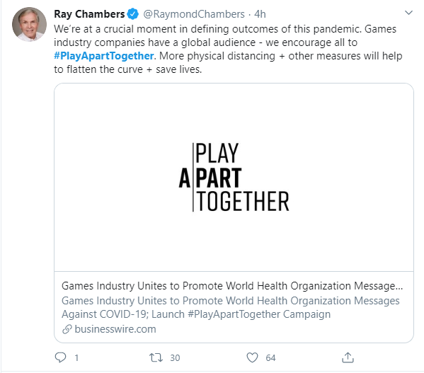 WHO phát động phong trào chơi game đẩy lùi Covid-19, Riot Games và nhiều tổ chức lớn tham gia - Ảnh 2.