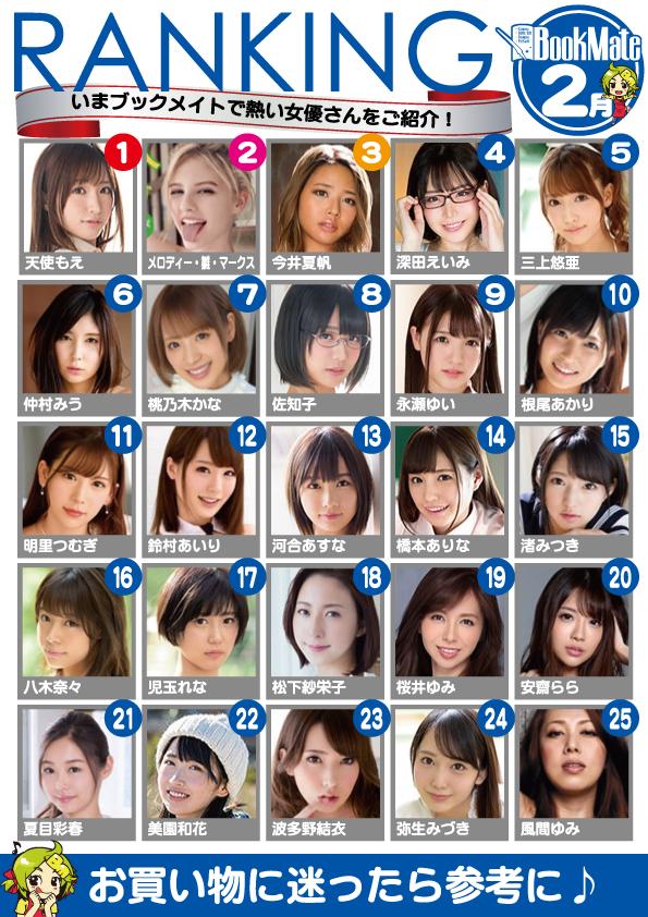 BXH diễn viên phim 18+ ăn khách tháng 1/2020: Thiên sứ Moe trở lại hạng 1, Eimi Fukada top 4, Yua Mikami top 5 - Ảnh 2.