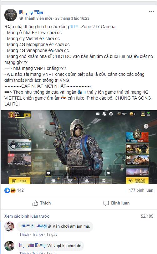 """Garena """"triệt"""" đường vượt rào của game thủ Việt, người chơi chỉ biết kêu trời - Ảnh 4."""