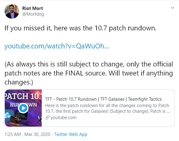 Riot Games công bố chi tiết phiên bản 10.7 Đấu Trường Chân Lý - Cơ chế Thiên Hà chính thức xuất hiện - Ảnh 2.