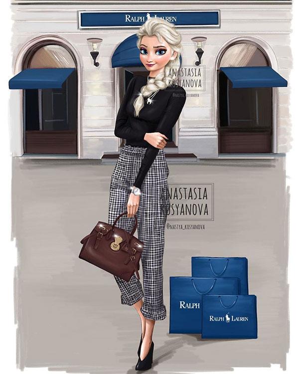 Công chúa Disney trông thật đẳng cấp và sành điệu khi diện trang phục của những thương hiệu xa xỉ - Ảnh 3.
