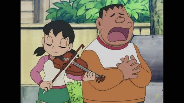 Kèo khó cho fan truyện tranh Doraemon: Giọng hát của Jaian hay tiếng đàn của Shizuka kinh khủng hơn? - Ảnh 6.