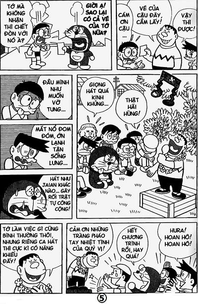 Kèo khó cho fan truyện tranh Doraemon: Giọng hát của Jaian hay tiếng đàn của Shizuka kinh khủng hơn? - Ảnh 2.
