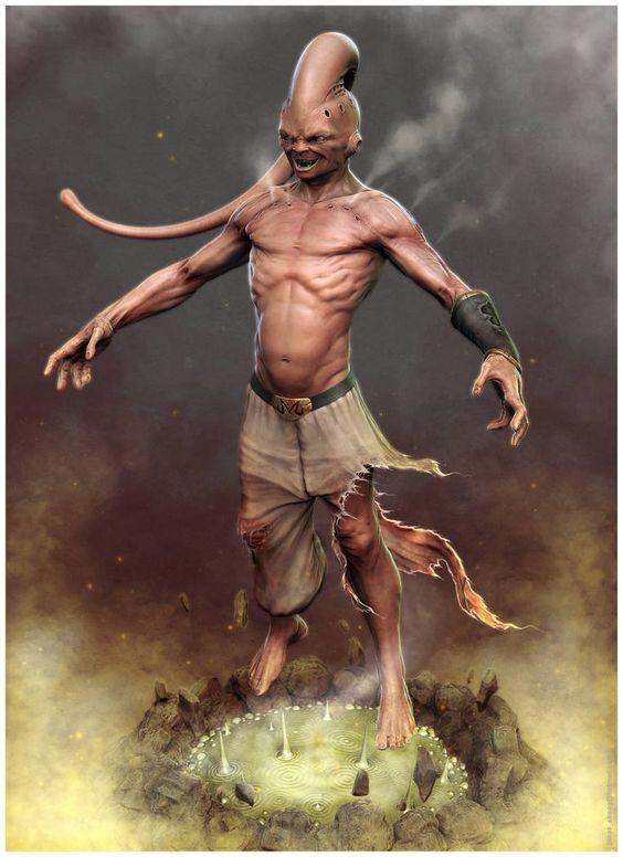 Dragon Ball: Kinh hãi khi thấy ác nhân Majin Buu được vẽ theo phong cách kinh dị - Ảnh 1.