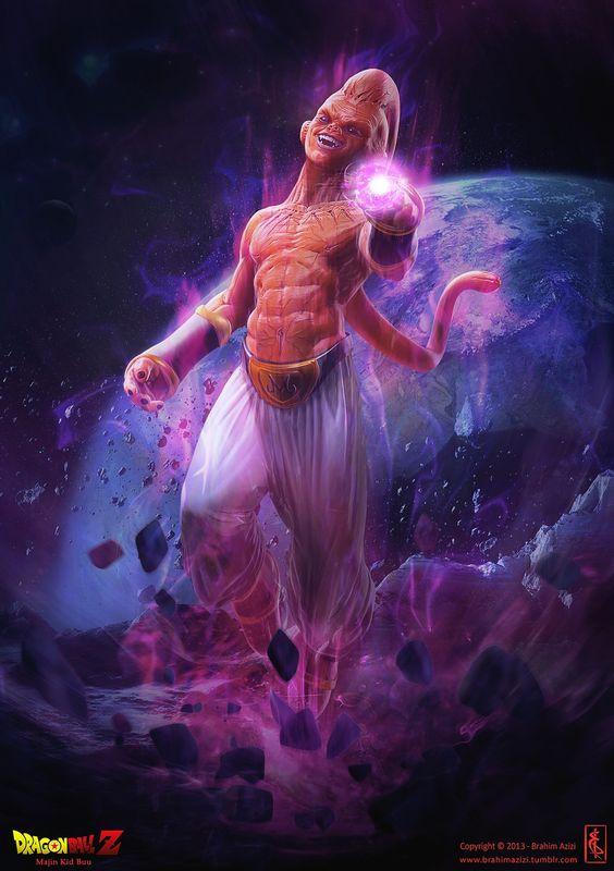 Dragon Ball: Kinh hãi khi thấy ác nhân Majin Buu được vẽ theo phong cách kinh dị - Ảnh 10.