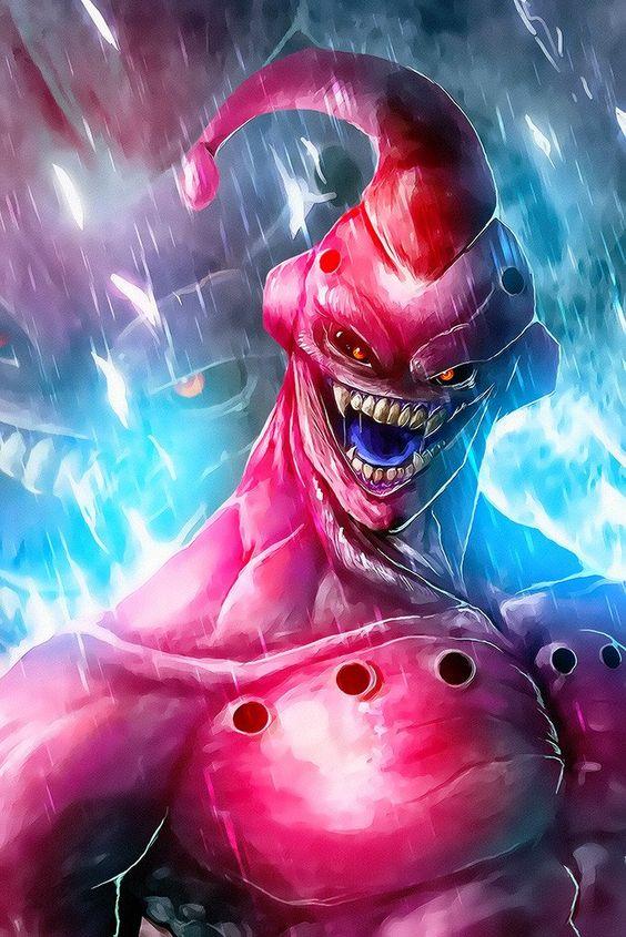 Dragon Ball: Kinh hãi khi thấy ác nhân Majin Buu được vẽ theo phong cách kinh dị - Ảnh 13.
