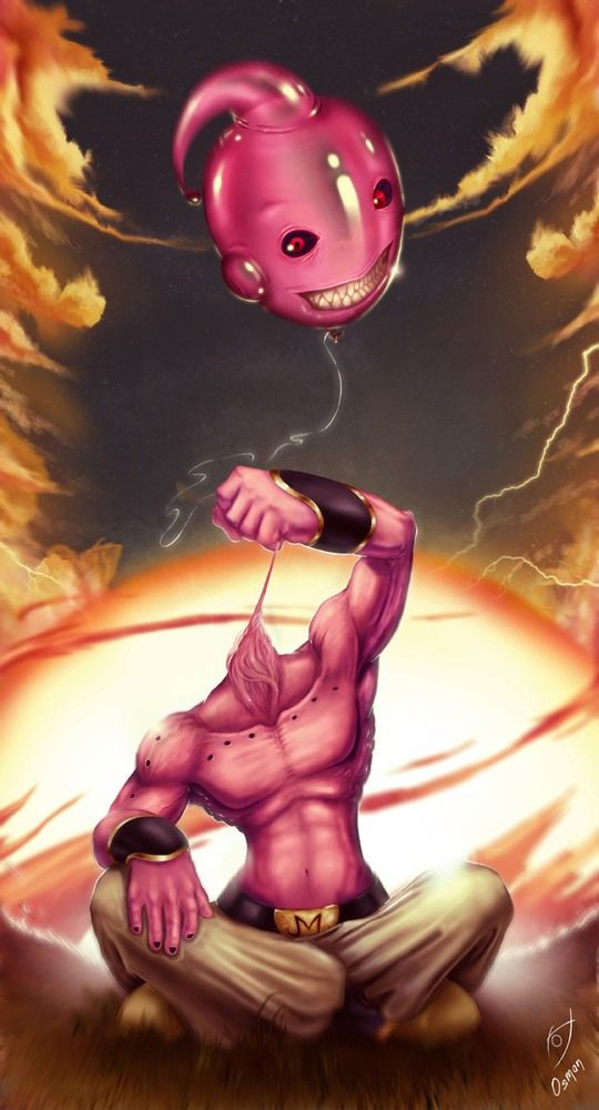 Dragon Ball: Kinh hãi khi thấy ác nhân Majin Buu được vẽ theo phong cách kinh dị - Ảnh 14.
