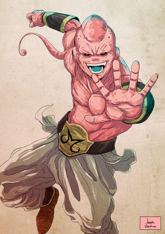 Dragon Ball: Kinh hãi khi thấy ác nhân Majin Buu được vẽ theo phong cách kinh dị - Ảnh 15.
