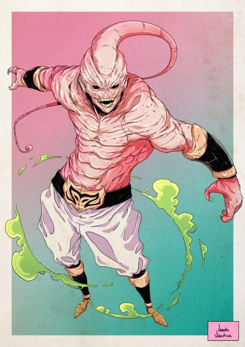 Dragon Ball: Kinh hãi khi thấy ác nhân Majin Buu được vẽ theo phong cách kinh dị - Ảnh 16.