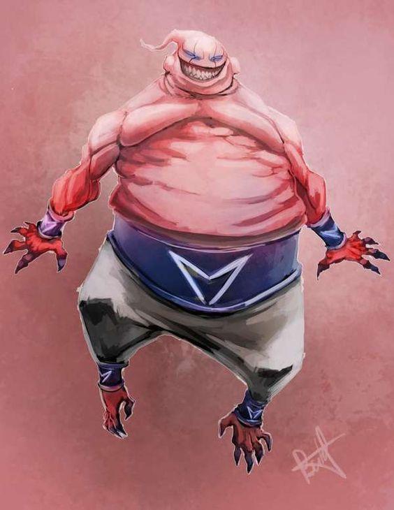 Dragon Ball: Kinh hãi khi thấy ác nhân Majin Buu được vẽ theo phong cách kinh dị - Ảnh 17.