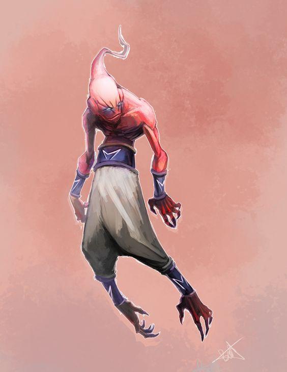 Dragon Ball: Kinh hãi khi thấy ác nhân Majin Buu được vẽ theo phong cách kinh dị - Ảnh 18.