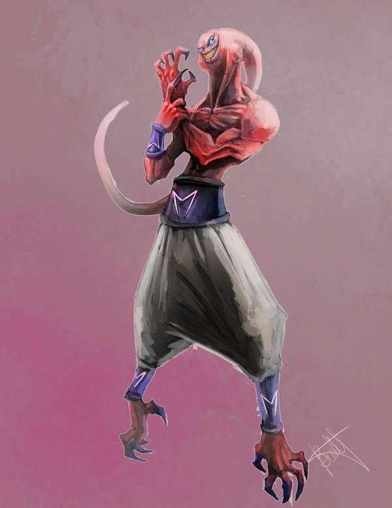 Dragon Ball: Kinh hãi khi thấy ác nhân Majin Buu được vẽ theo phong cách kinh dị - Ảnh 19.