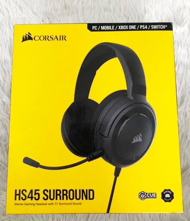 Corsair HS45 Surround: Tai nghe đa năng, ngon lành cho anh em game thủ - Ảnh 1.