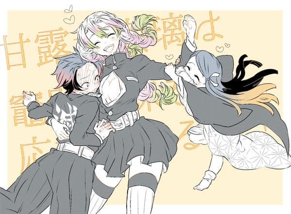 Tanjirou bất ngờ bị ghép đôi với tất cả nhân vật Kimetsu no Yaiba, thuyền nào sẽ được đẩy nhiều nhất? - Ảnh 4.