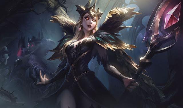 LMHT: Loạt trang phục Tiên Hắc Ám đẹp ma mị được hé lộ - Zyra có skin Hàng Hiệu, Morgana khiến bao con tim chết lặng - Ảnh 1.