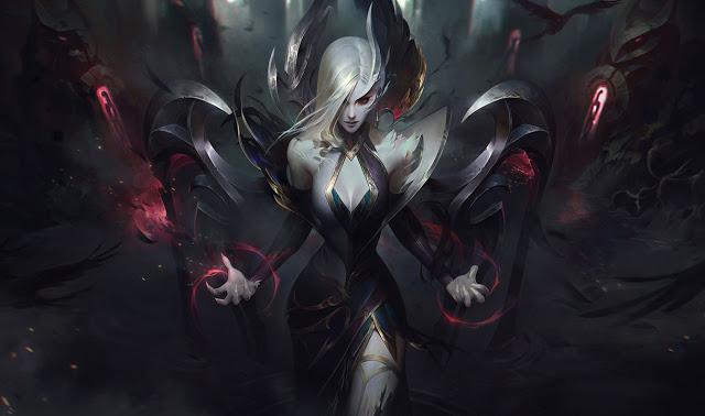 LMHT: Loạt trang phục Tiên Hắc Ám đẹp ma mị được hé lộ - Zyra có skin Hàng Hiệu, Morgana khiến bao con tim chết lặng - Ảnh 16.