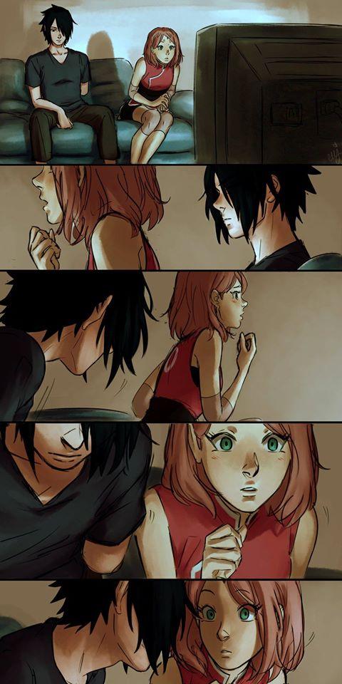 Naruto: Ngắm loạt fan art vợ chồng người ta tình bể bình mà chỉ biết ước - Ảnh 3.