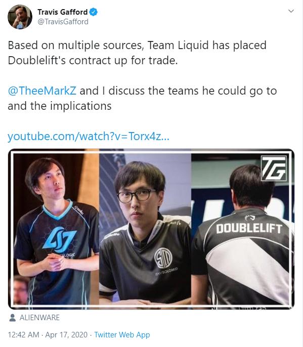 Thi đấu bết bát, Doublelift đứng trước nguy cơ bị Team Liquid thanh lý hợp đồng ngay trong mùa hè - Ảnh 3.