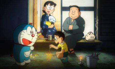 Tự nhiên xuất hiện con mèo máy, thế rốt cuộc ông bà Nobi nghĩ thế nào về Doraemon? - Ảnh 2.