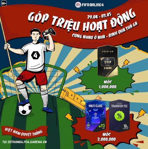Hòa cùng không khí lễ lớn 30/04 - 01/05: FIFA Online 4 tung sự kiện siêu hot, game thủ tha hồ rinh quà khủng - Ảnh 4.