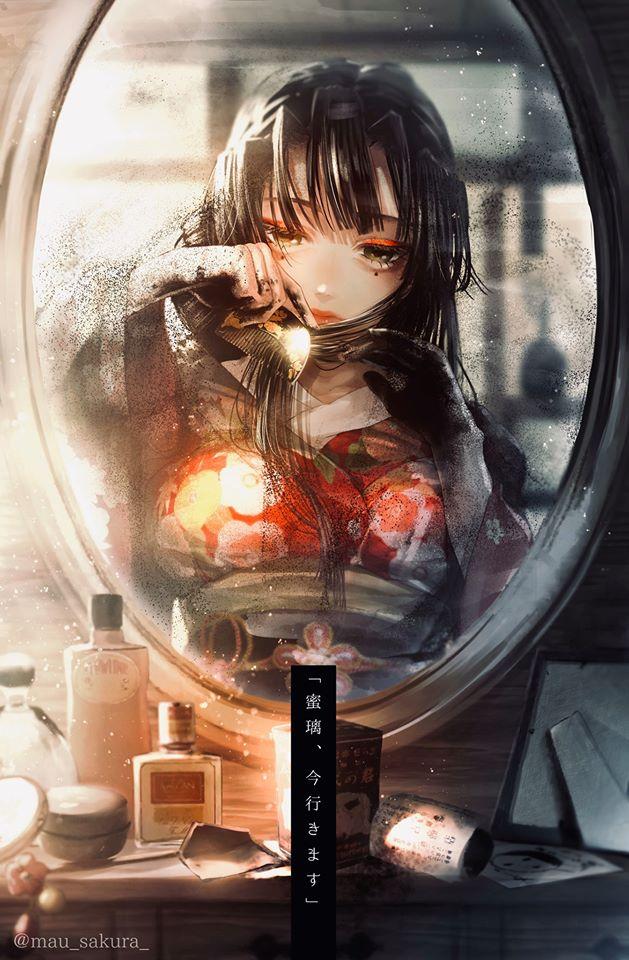 Bỗng dưng muốn khóc khi chiêm ngưỡng loạt fan art đầy cảm xúc về các nhân vật Kimetsu no Yaiba - Ảnh 17.