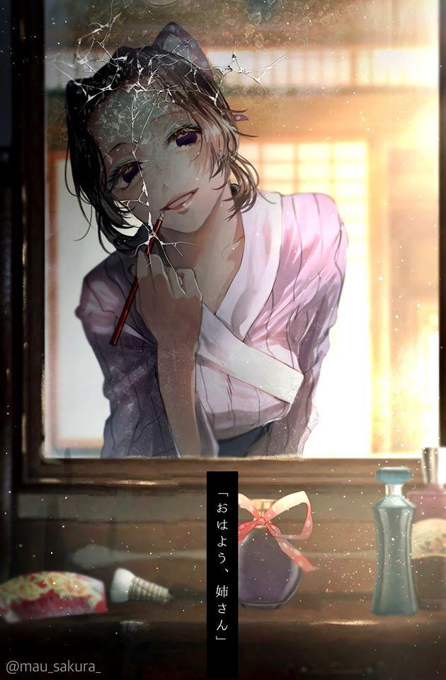 Bỗng dưng muốn khóc khi chiêm ngưỡng loạt fan art đầy cảm xúc về các nhân vật Kimetsu no Yaiba - Ảnh 20.