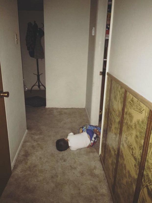 Bị cách ly lâu quá, đến cả lũ trẻ con cũng chán đời lăn ra ngủ như thế này đây - Ảnh 22.