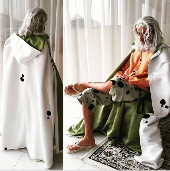 One Piece: 10 phiên bản cosplay Vua Bóng Tối Silvers Rayleigh như bước ra từ anime - Ảnh 7.