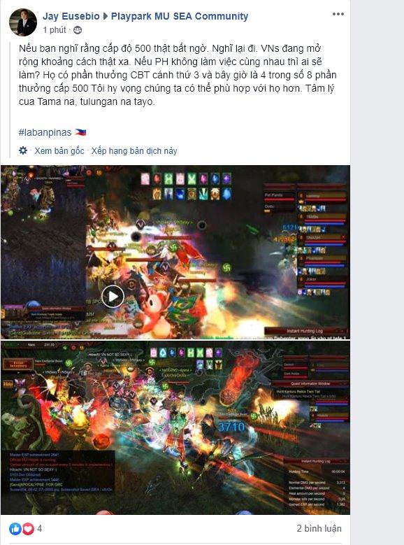 MU PlayPark bất ngờ chặn IP Việt Nam, cộng đồng game thủ bức xúc tố NPH lừa tiền nạp - Ảnh 11.