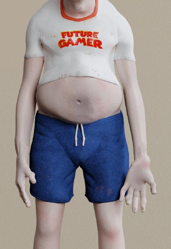 """Bộ ảnh sốc về sự """"tiến hóa"""" kinh khủng của con người sau 20 năm nữa, nếu quá nghiện game - Ảnh 4."""