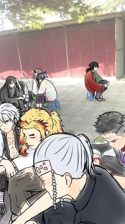 Giải khuây những ngày dài ở nhà trốn dịch với loạt ảnh tấu hài của các nhân vật Kimetsu no Yaiba - Ảnh 16.
