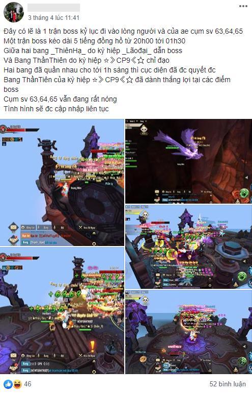 Kinh hoàng game mobile: Săn Boss PK nhau từ 8h tối đến 2h sáng, 500 anh em ra hóng... lag cả server - Ảnh 1.