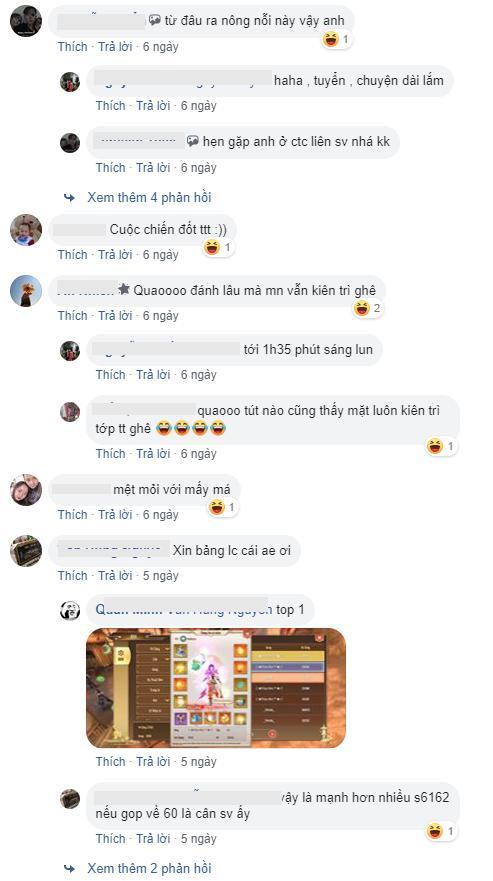 Kinh hoàng game mobile: Săn Boss PK nhau từ 8h tối đến 2h sáng, 500 anh em ra hóng... lag cả server - Ảnh 6.
