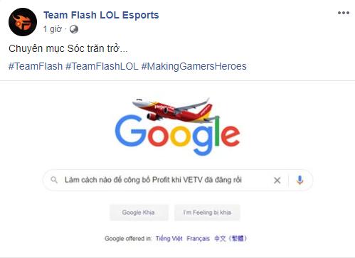 Team Flash chính thức công bố bản hợp đồng mới Profit theo phong cách các bạn giả vờ bất ngờ đi cho vui - Ảnh 1.